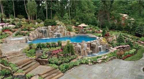 cipriano landscape design in mahwah nj alderete pools inc in