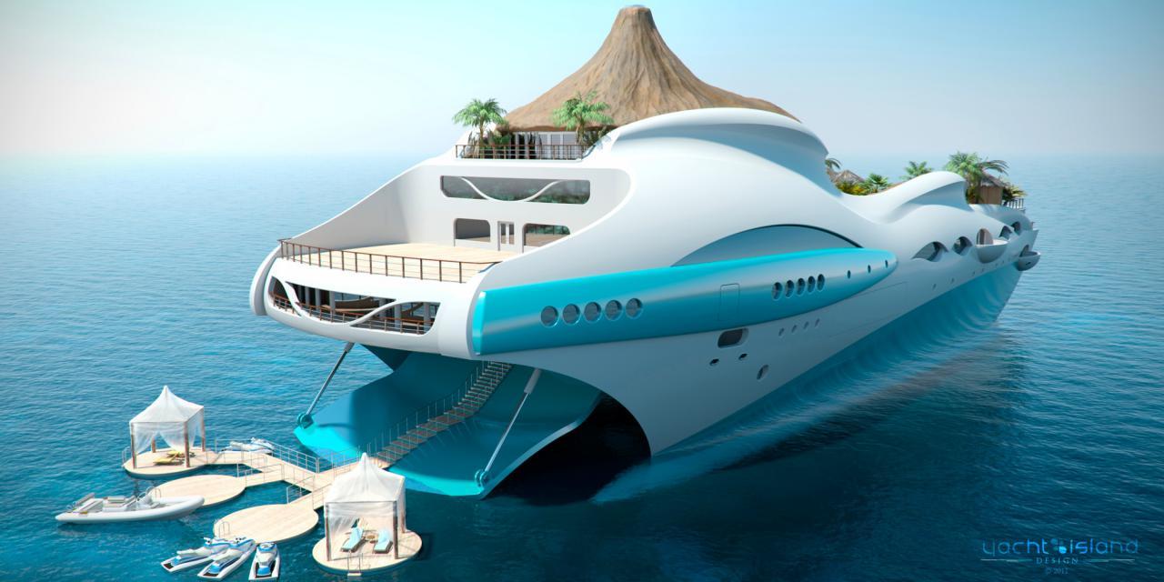 Partager la publication « Tropical Island Paradise : un yacht de luxe ...