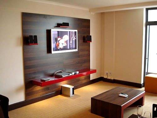 tv wall unit design ideas | Home Designs Wallpapers