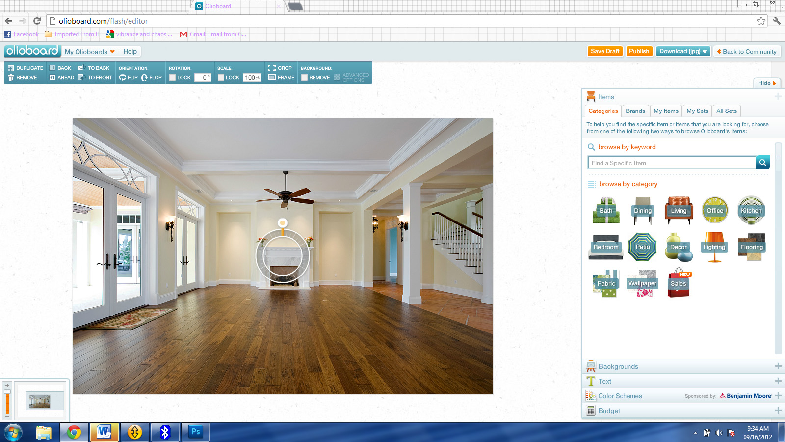 Interior design tool home design for Room design software