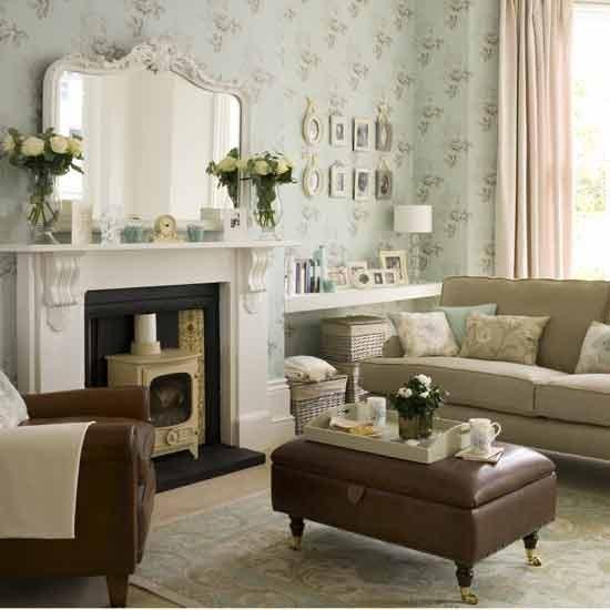 Modern vintage living room   Living rooms   Living room ideas   Image ...