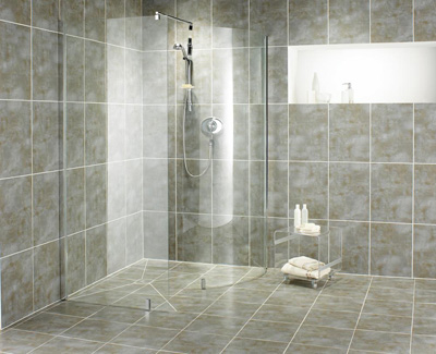 ... combination of functionality and style in any wet room installation